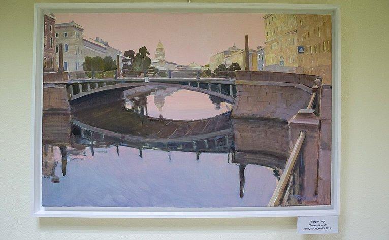 Открытие выставки петербургских художников «Петербург— Москва»