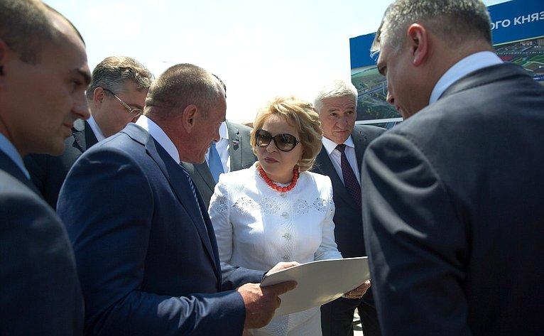 Рабочая поездка Председателя Совета Федерации В. Матвиенко вСтаврополь