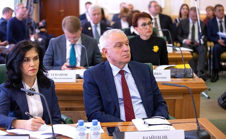 Заседание Совета порегиональному здравоохранению