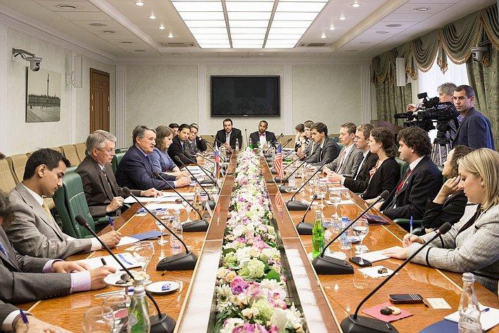 15-08 Воробьев встреча с американцами 12
