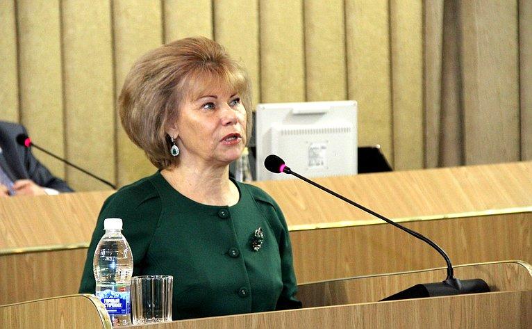Татьяна Гигель приняла участие вработе XXX сессии Государственного Собрания— Эл Курултай Республики Алтай шестого созыва