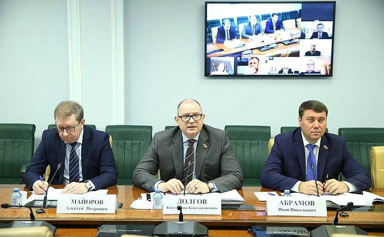Алексей Майоров, Константин Долгов иИван Абрамов