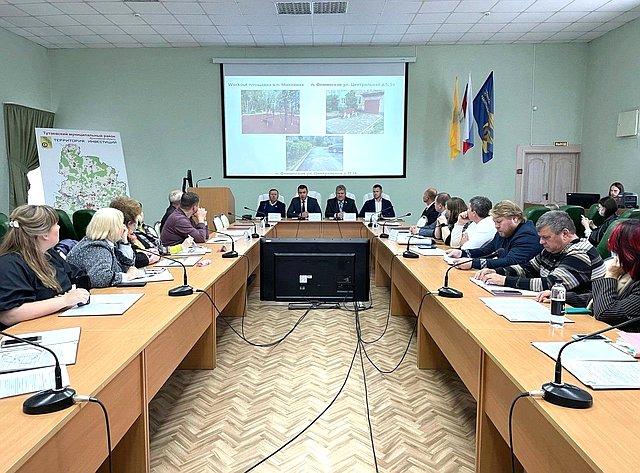 Сергей Березкин входе работы врегионе принял участие впленарном заседании Общественной палаты Тутаевского муниципального района