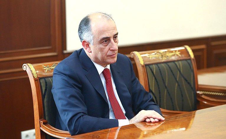 Глава Кабардино-Балкарии Юрий Коков