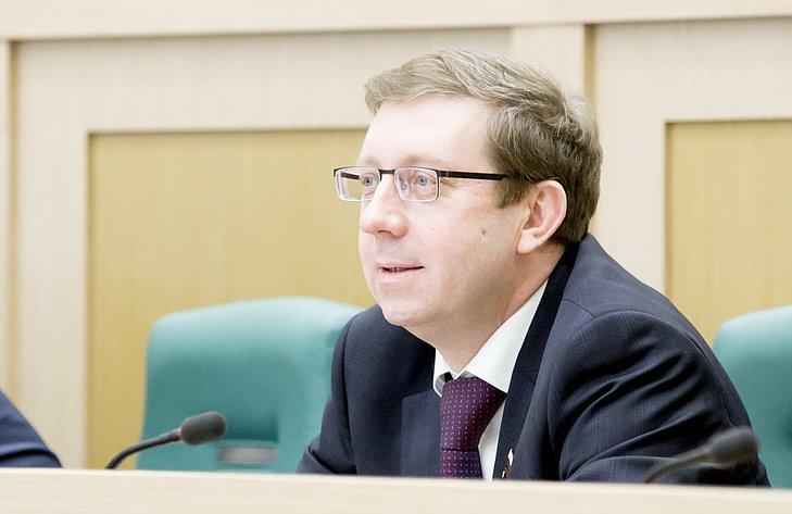 367-е заседание Совета Федерации Майоров