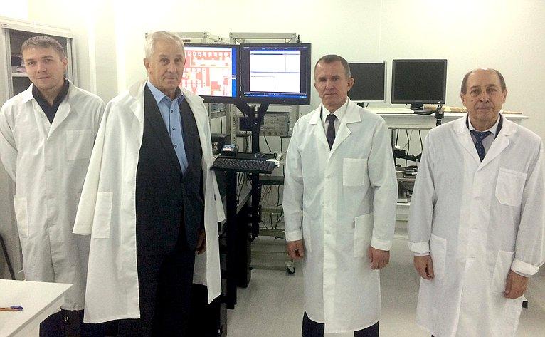 В. Кравченко посетил Томский государственный университет систем управления ирадиоэлектроники