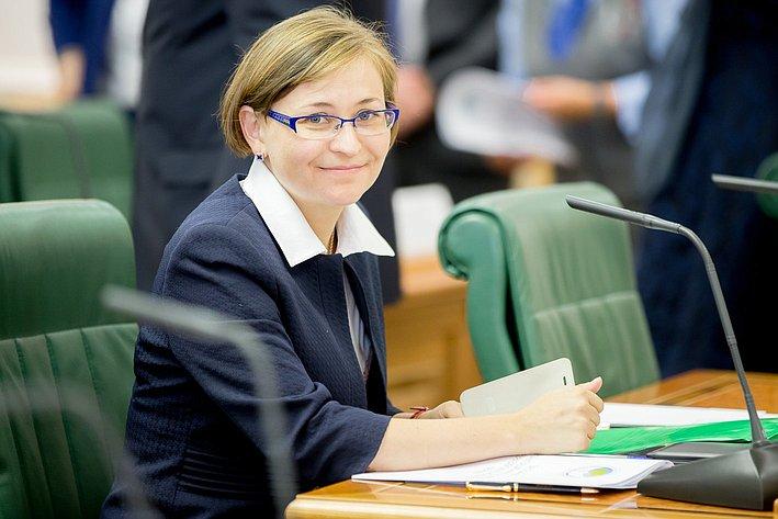 Л. Бокова Заседание Организационного комитета Евразийского женского форума