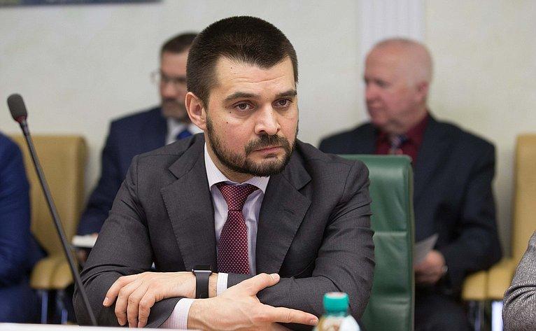С. Мамедов назаседании Комитета общественной поддержки жителей Юго-Востока Украины