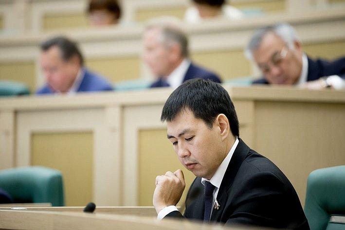 Ооржак 380-е заседание Совета Федерации