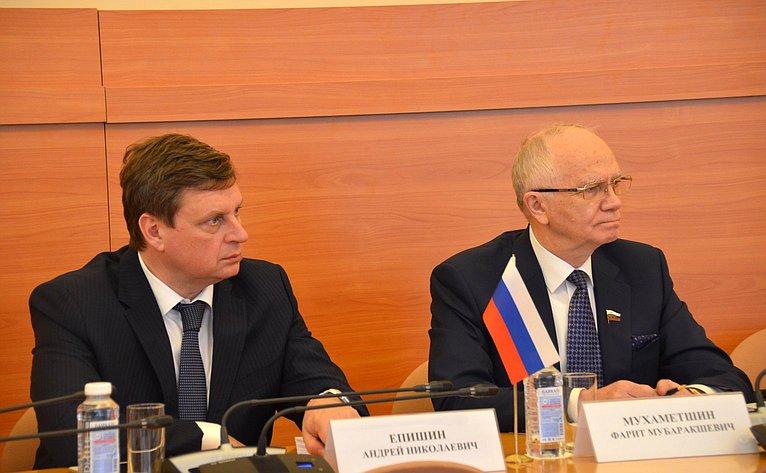 Андрей Епишин выступил вСанкт-Петербурге назаседании Постоянной комиссии МПА СНГ
