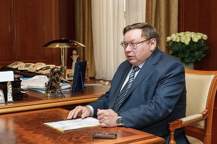 Встреча с губернатором Ивановской области