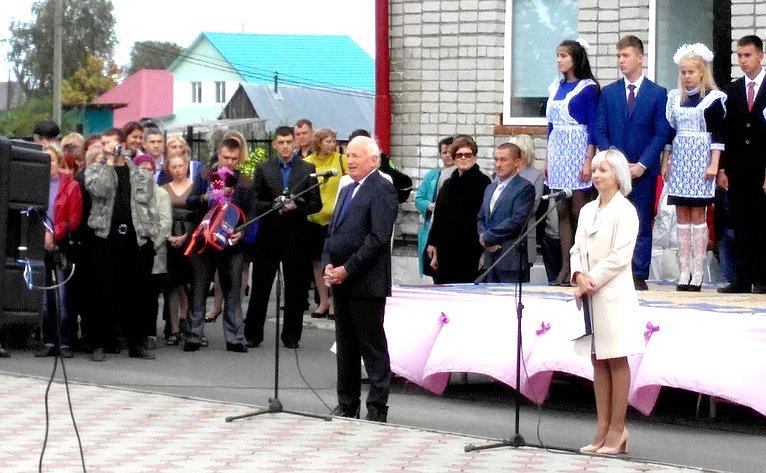 Виктор Кресс принял участие вработе VII съезде работников образования Томской области