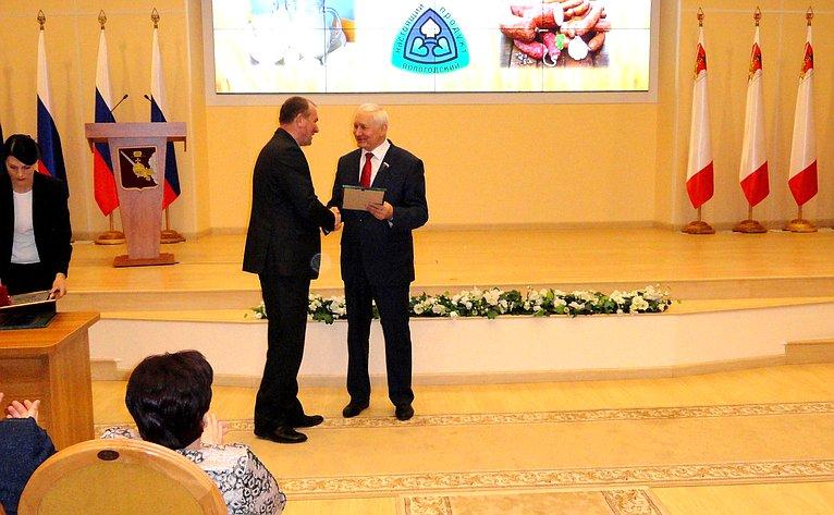 Николай Тихомиров принял участие всовещании, посвященного подведению итогов работы селян в2018году