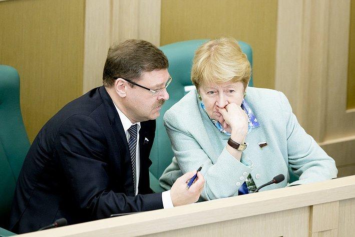 369-е заседание Косачев и Дементьева