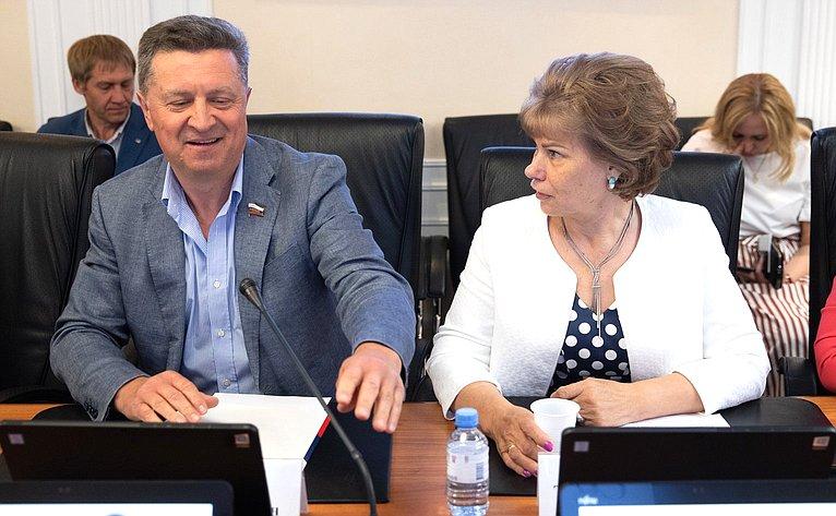 Валерий Гаевский иТатьяна Гигель