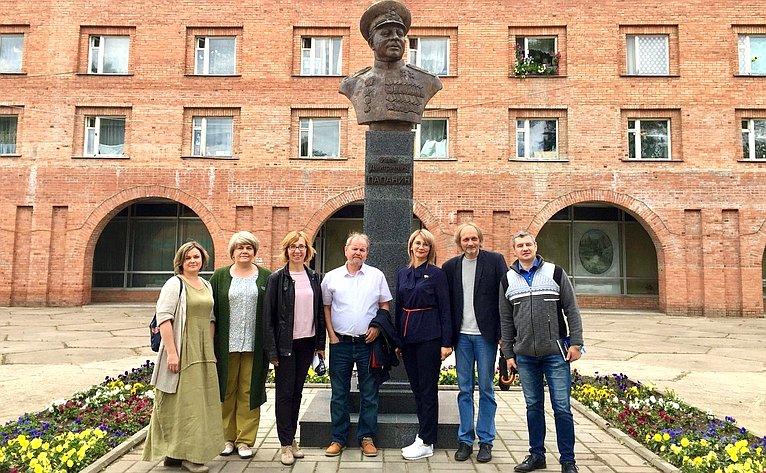 Наталия Косихина посетила Некоузский муниципальный район