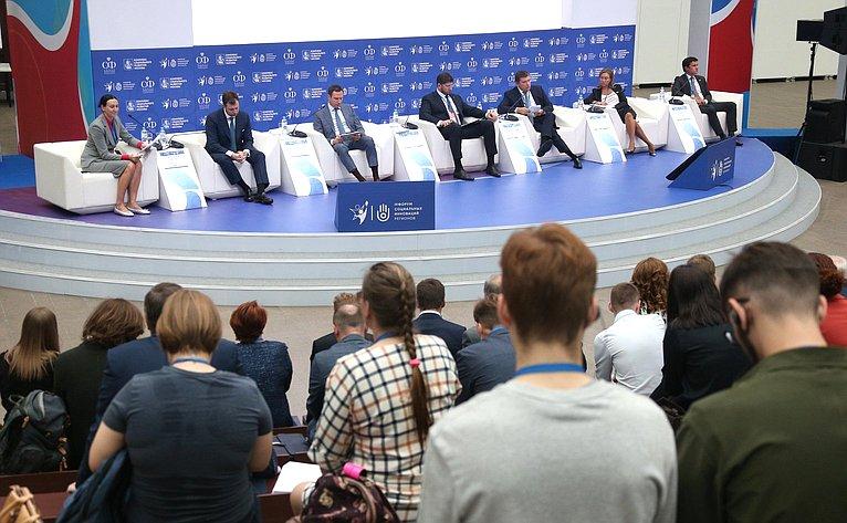 Николай Журавлев выступил надискуссионной площадке «Социальные аспекты винфраструктурных проектах. Как обеспечить баланс интересов?»