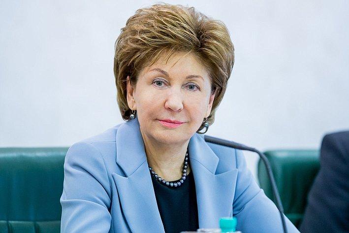 Просьба не публиковать Г. Карелова Заседание Организационного комитета Евразийского женского форума