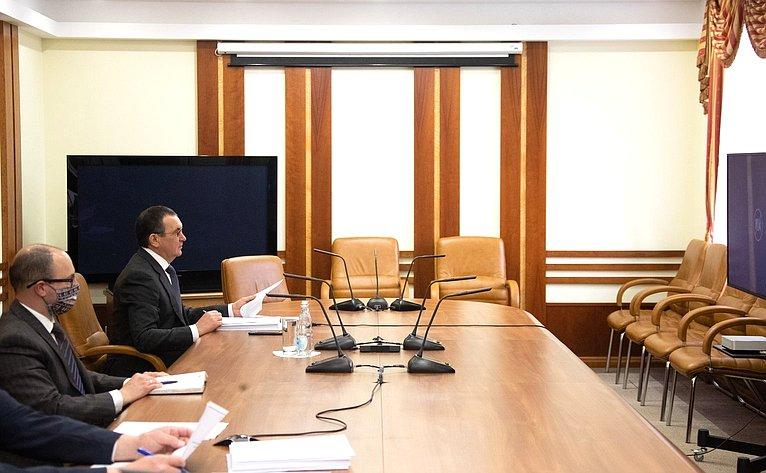 Николай Федоров принял участие взаседании Комиссии Правительства РФ позаконопроектной деятельности