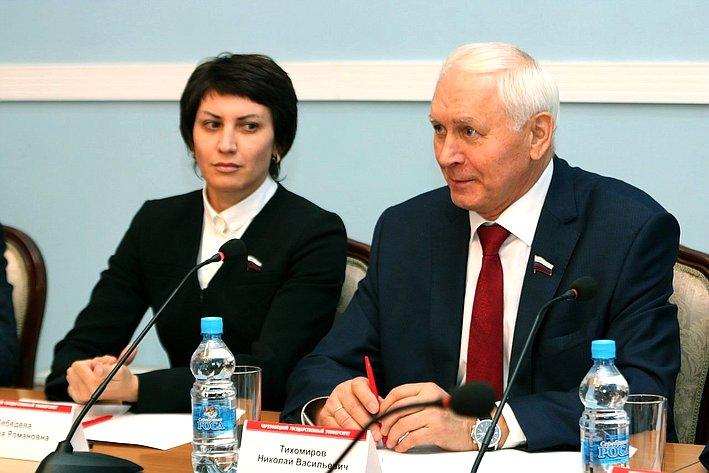 Татьяна Лебедева иНиколай Тихомиров
