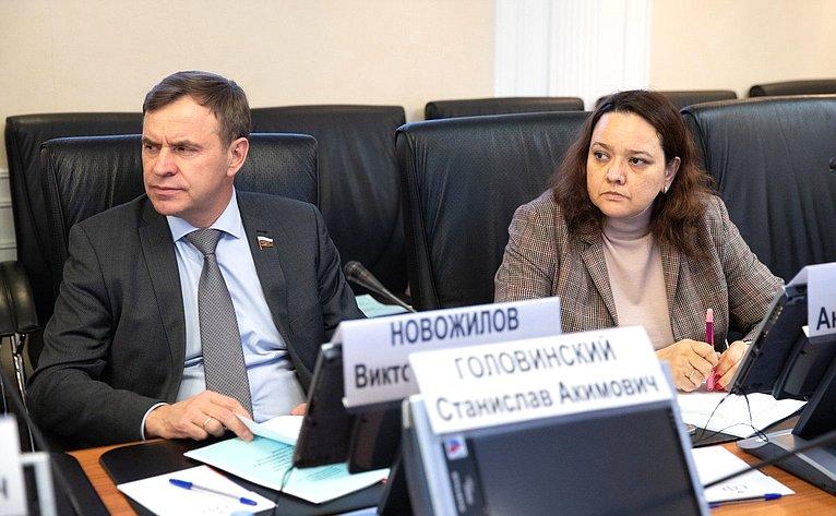 Виктор Новожилов иАнна Отке