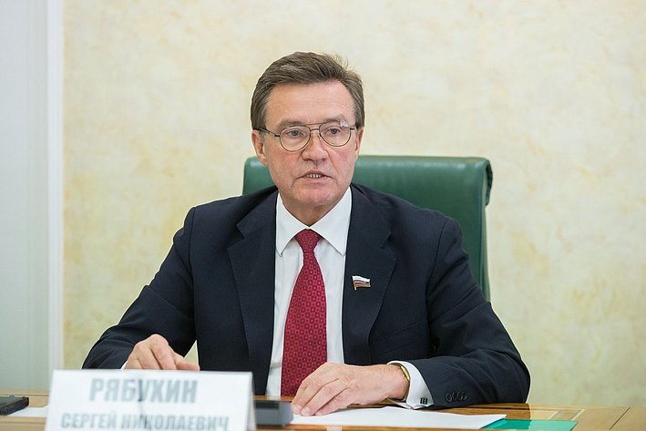 С. Рябухин Заседание Комитета СФ по бюджету и финансовым рынкам