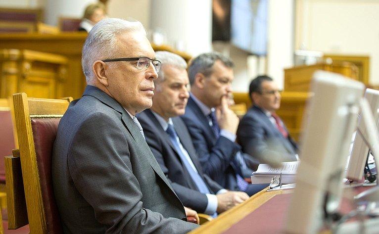 Генеральный секретарь МПА СНГ Алексей Сергеев