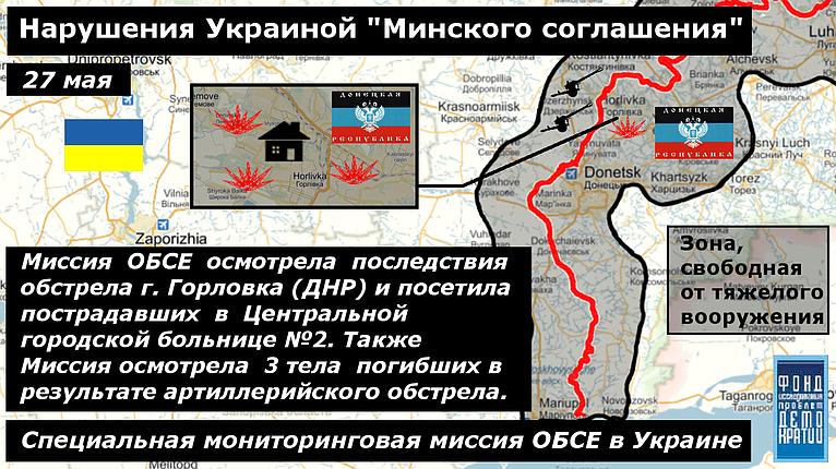 Фото нарушения минских соглашений 3 27-05