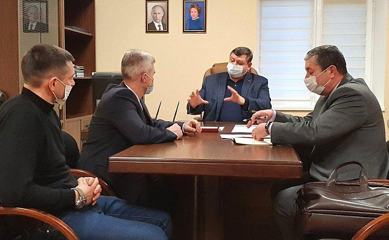 Сергей Колбин провел рабочую встречу сруководителями экстренных оперативных служб города Севастополя
