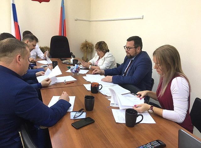 Сенатор Ольга Хохлова приняла участие вучастие врабочем совещании повопросам развития сельского хозяйства региона
