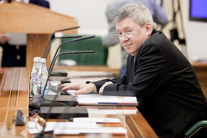А. Торшин Президиум Совета законодателей