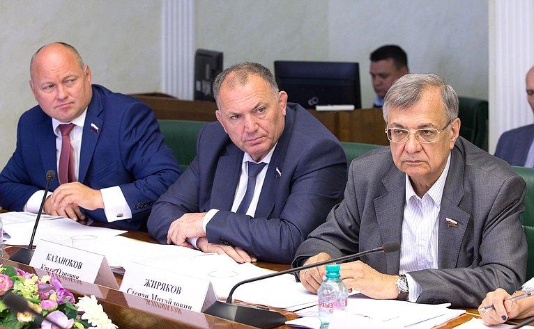 К. Казаноков иС. Жиряков