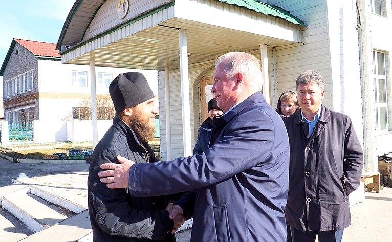 Вячеслав Наговицын побеседовал сиереем Анатолием Дакичем