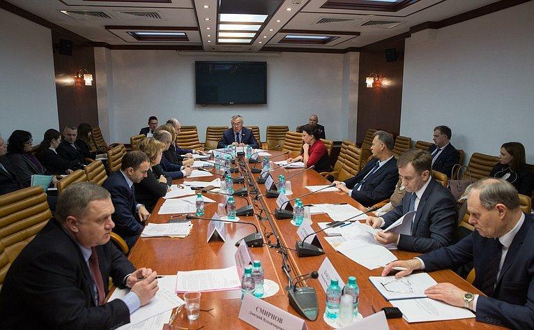 Заседание секции малых исредних предприятий ОПК