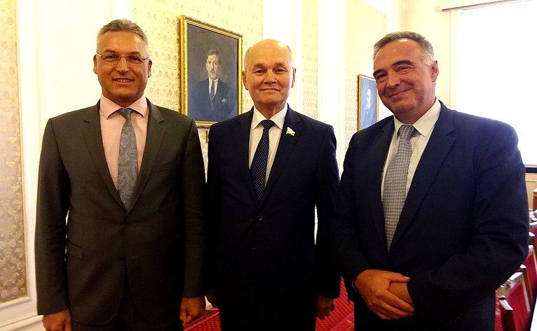 М. Щетинин обсудил вСофии сдепутатами Народного Собрания Болгарии перспективы развития межпарламентского диалога