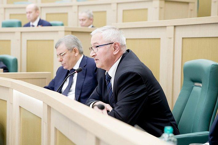 373-е Заседание Совета Федерации Дидигов