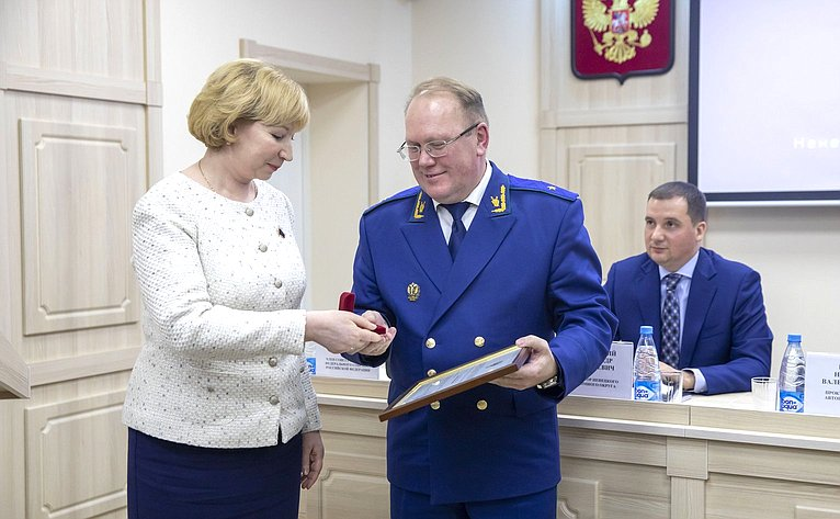 Р. Галушина приняла участие взаседании коллегии прокуратуры Ненецкого автономного округа