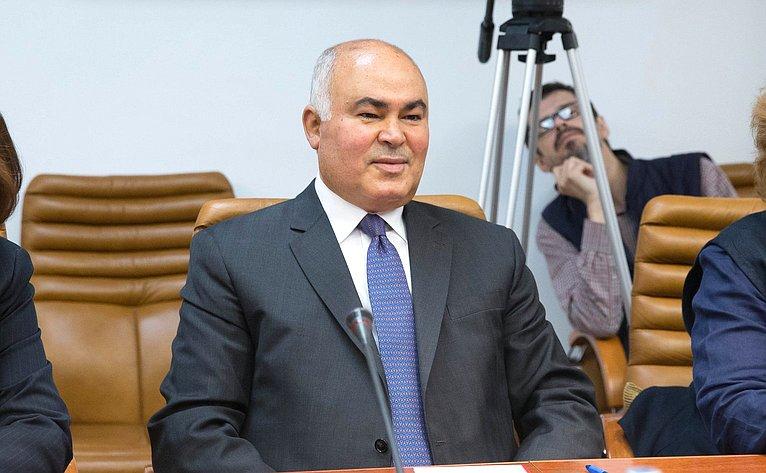 Заместитель Министра иностранных дел Республики Ирак М.Салех