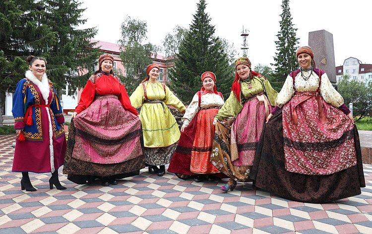 Римма Галушина врамках региональной недели вНенецком округе приняла участие вакции «Свой среди своих»