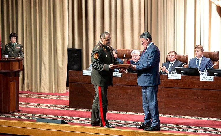 Юрий Воробьев принял участие взаседании коллегии Федеральной службы Войск национальной гвардии Российской Федерации