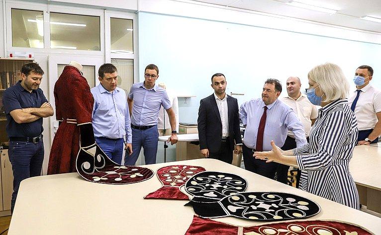 Николай Журавлев срабочей поездкой посетил Республику Адыгея
