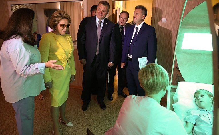 Посещение государственного автономного учреждения Астраханской области «Научно-практический центр реабилитации детей «Коррекция иразвитие»
