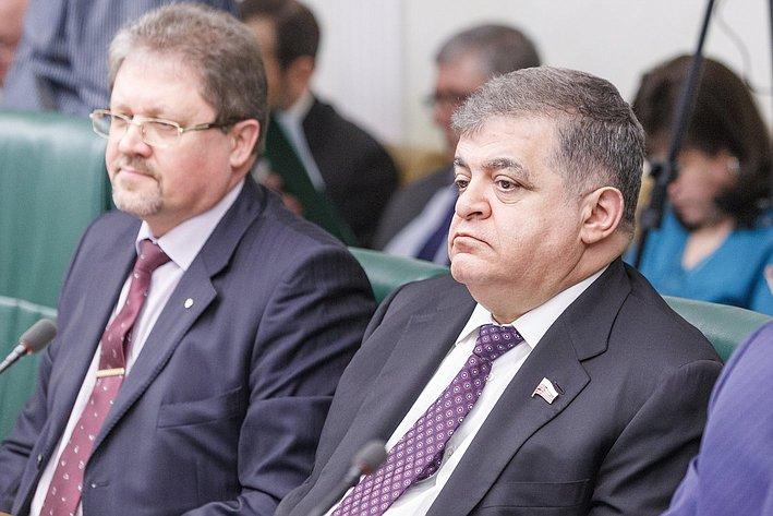 В Совете Федерации состоялось заседание Комитета общественной поддержки жителей Юго-Востока Украины Джабаров