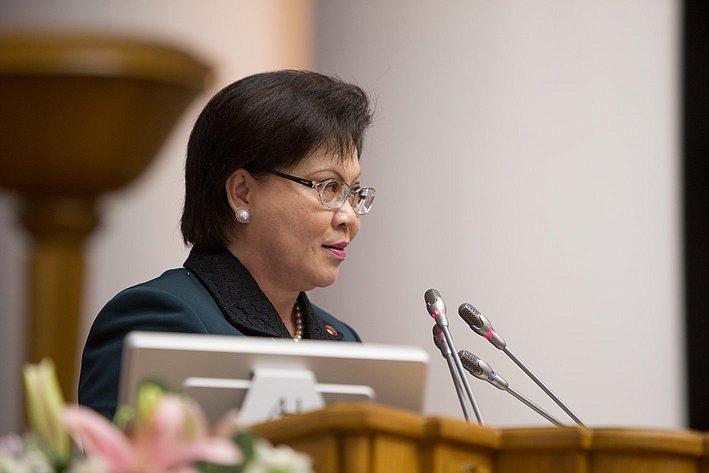 Заключительное пленарное заседание Евразийского женского форума