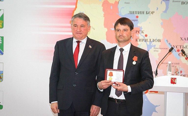 Юрий Воробьев принял участие вторжественном мероприятии, посвященном Дню местного самоуправления