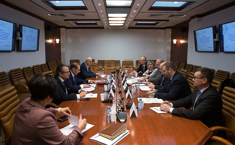 Встреча сенаторов спредставителями Германо-Российского аграрно-политического диалога