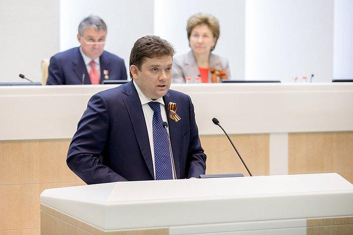 373-е Заседание Совета Федерации Журавлев