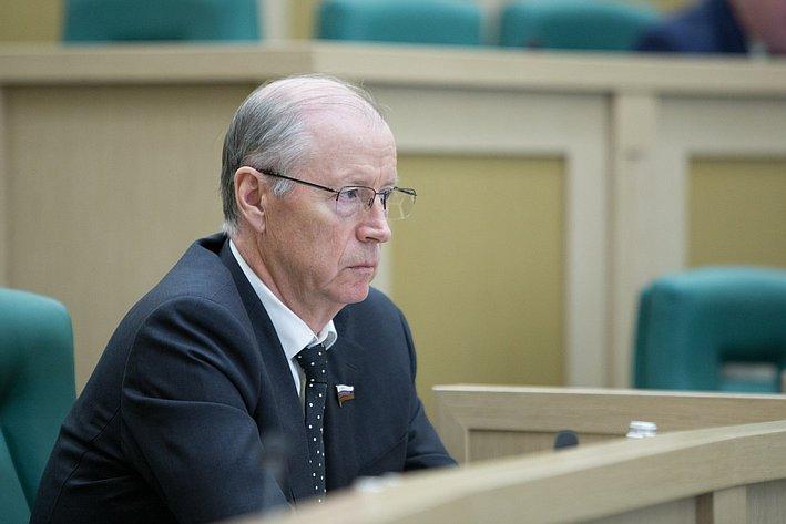 Петрушкин 383-е заседание Совета Федерации