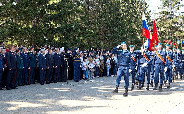 Олег Цепкин принял участие вторжественных мероприятиях, посвященных Дню Победы