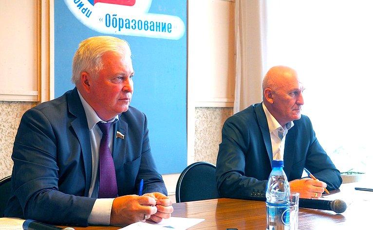 Встреча В. Наговицына спредставителями муниципалитетов отдаленного Баунтовского района Бурятии